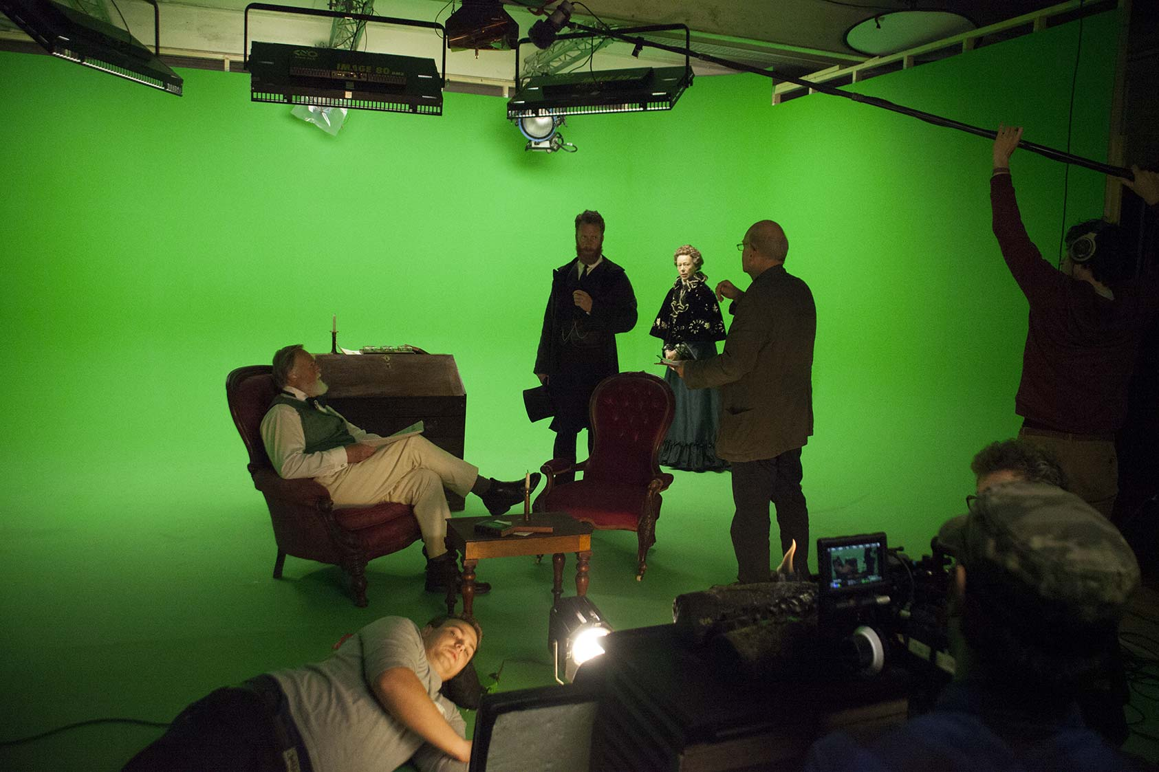 Krowji green screen studio